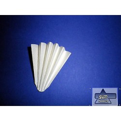 100 piece pleated filter, Ø 320 mm Filter MN616 md 1/4 MN 533032