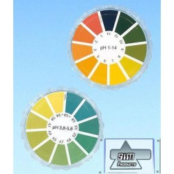 Universal Indicator paper pH 1-14 roll of 5 m x 7 mm MA 90204