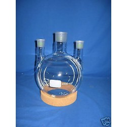 Three-neck round flask 4000ml 2x NS 29/32..1x NS 45/40 W 0775004