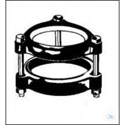 Mount for flat flanges, 25 mm W 0128425