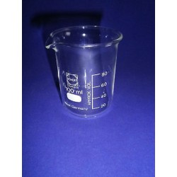 Beaker HF 150 ml with spout, BORO
