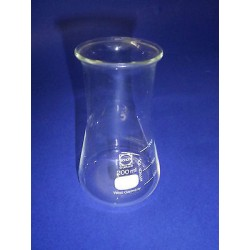 Flask flask wide neck with a division of Schott Duran glass W 5508xxx