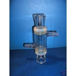 Glass tube with heating mantle DPS 25/200 glass tube