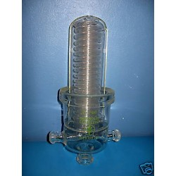 Radiator cooling surface area of 2000 cm2 for 20 liters of piston exothermic