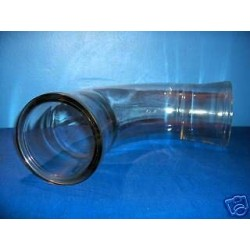 QVF ® curved flange pipe PB90/4-DN100...250...90° pipe glass pipe