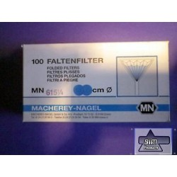 100 piece pleated filter, Ø 270 mm Filter MN615 MN 531027