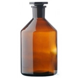 Reagent bottle 50 ml with stopper NS 14/15