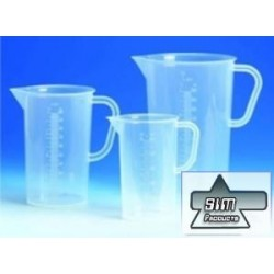 Measuring Cup of 100 ml, WITH Handle and spout PP Material