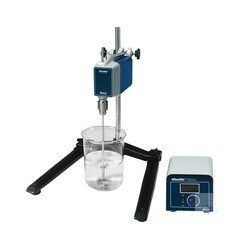 Stirrer, HT-50T-Set, with stirrer+clamp+tripod, dig. Remote control function. max. 40L 50-1.000 U/min