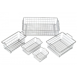 Wire basket B02 120x105x65mm stainless steel, for WUC-A02H