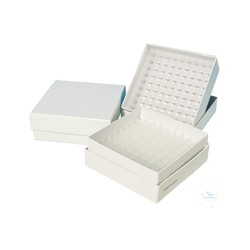 Cryo boxes with Grid inserts 81 holes of cardboard Material for RFU3040SD/S