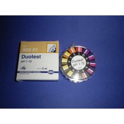 Duotest 1-12 pH indicator paper refill 3 roll of 5 m x 10 mm MA 90311