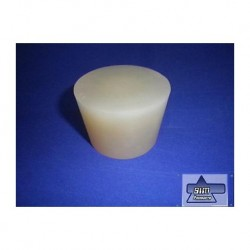 Silicone stoppers TRANSPARENT 65x 56x 45 mm long W 9201018