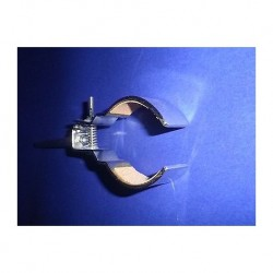 Stand clamp with ROUND JAWS, span width 15 MM