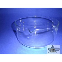 Crystallizing dish 3500ml borosilicate