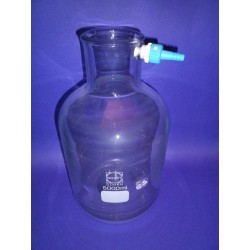 Suction bottle filtration bottle plastic Olive 20000 ml