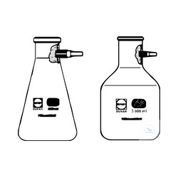 250 ml coating suction bottle with PP Olive, SCHOTT DURAN ®WITOSINT