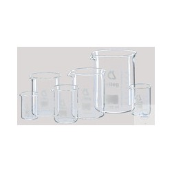 VASO de precipitados Set 2x 400 ml, 4x 600 ml, 4x 1000