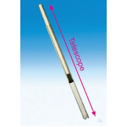 Telescopic suction tube made of FEP suitable for Labmax 25 - 100ml Titrex