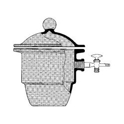 DESICCATOR diameter:200mm WITOFORM with side tube