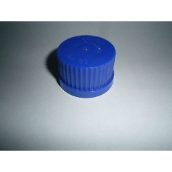 Screw cap GL45 blue PPN