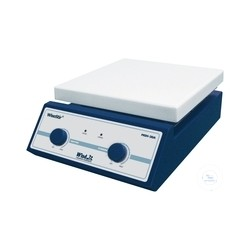 Magnetic stirrer with heating analog 180x180mm 380°C 80-1.500 U/min keramikbe