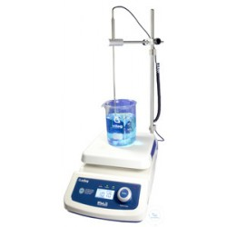 Magnetic stirrer with heating, digital Set 500°C 80-1.500 U/min ceramic plate