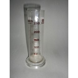 DURAN measuring cylinder, low Form 250 ml : 5 ml, class B