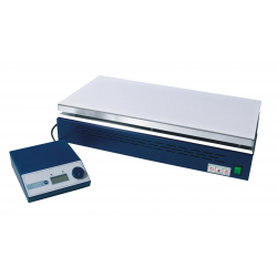Hot plate 310x620mm 350°C ceramic-coated, integr. Control