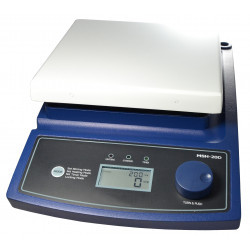Magnetic stirrer with heating, digital 180x180mm 380°C 80-1.500 U/min keramikb